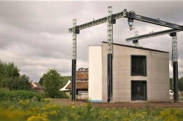 أول منزل 3D