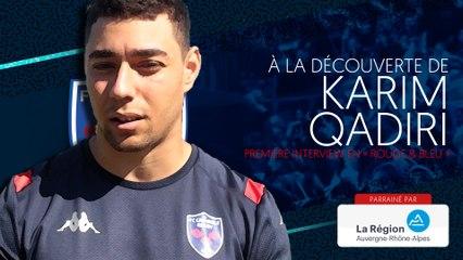 Karim Qadiri : « Avec le groupe qu'on a, il y a moyen de chercher quelque chose de bien. »
