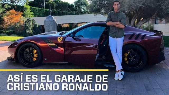 VÍDEO: Estos son los coches de Cristiano Ronaldo