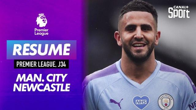 Le résumé de Manchester City - Newcastle en VO