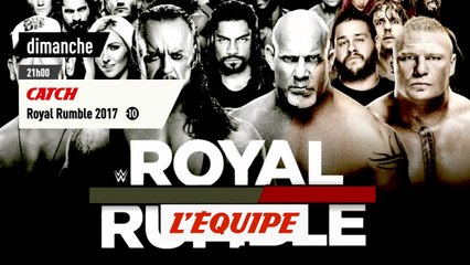 Royal Rumble 2017 , bande annonce - CATCH - WWE