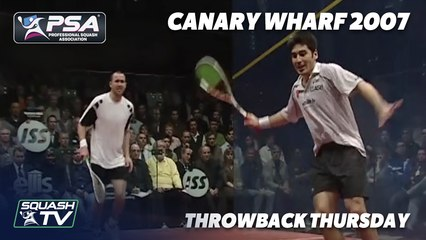Squash: #ThrowbackThursday - Lincou v White - 2007 Canary Wharf Semi Final - Extended Highlights