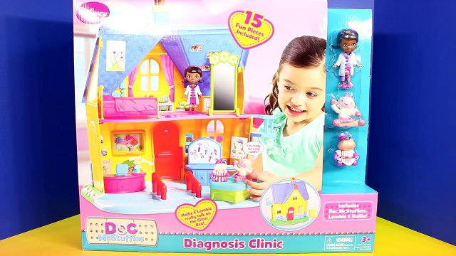 Disney Doc McStuffins Diagnosis Clinic Playset With Lambie Hallie Toy Story 3 Lotso