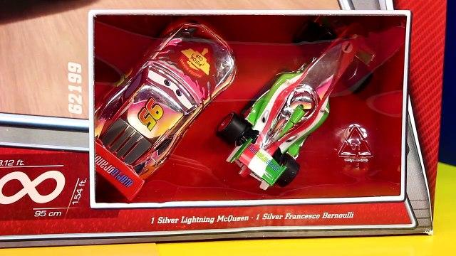Disney Pixar Cars Carrera Racing System Lightning McQueen Francesco Lemons Lotso Toy Story