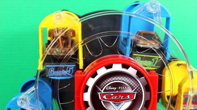 Disney Pixar Cars Lightning McQueen Mater Sally Go On Ferris Wheel Sheriff Brings Lemons To Jail