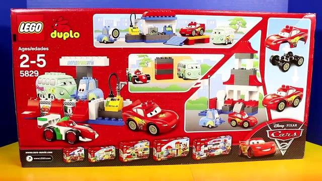 Disney Pixar Cars World Grand Prix Lego Duplo Lightning McQueen Francesco Bernoulli