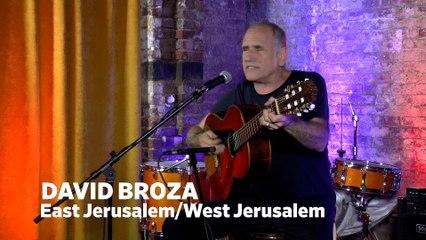 Dailymotion Elevate: David Broza - East Jerusalem / West Jerusalem live at Cafe Bohemia, NYC