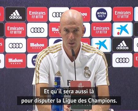 35e j. - Zidane compte sur Hazard pour la fin de saison