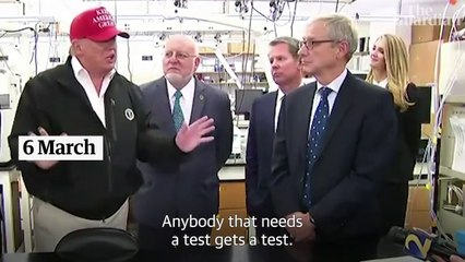 From miracle cures to slowing testing: how Trump has defied science on coronavirus – video explainer