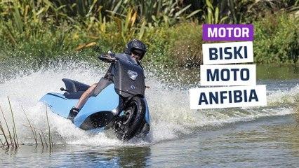 [CH] Biski, la moto anfibia que salta de la carretera al agua
