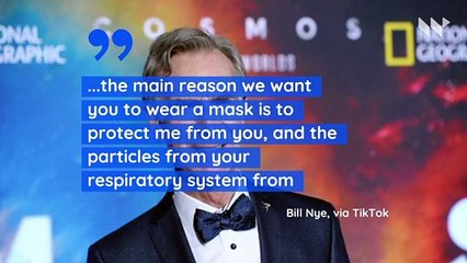 Bill Nye Calls Face Masks a Matter of 'Life and Death' on TikTok
