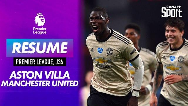 Le résumé d'Aston Villa / Manchester United