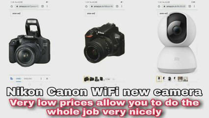 Canon camera new model।home security cameras online।high quality picture camera। Canon camera new model