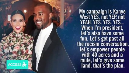 Kanye West's Presidency Plans & Thoughts On COVID