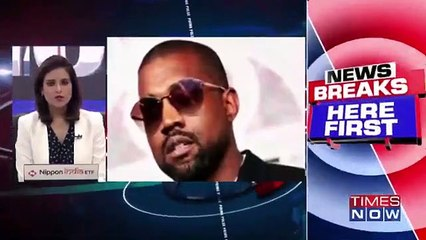 US election 2020 - Kanye West announces he's running for president