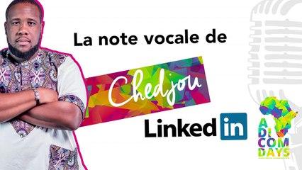 La note vocale de Chedjou : Nouveautés Social Media #2