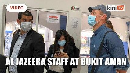 Al Jazeera staff at Bukit Aman, lawyer reveals security concerns