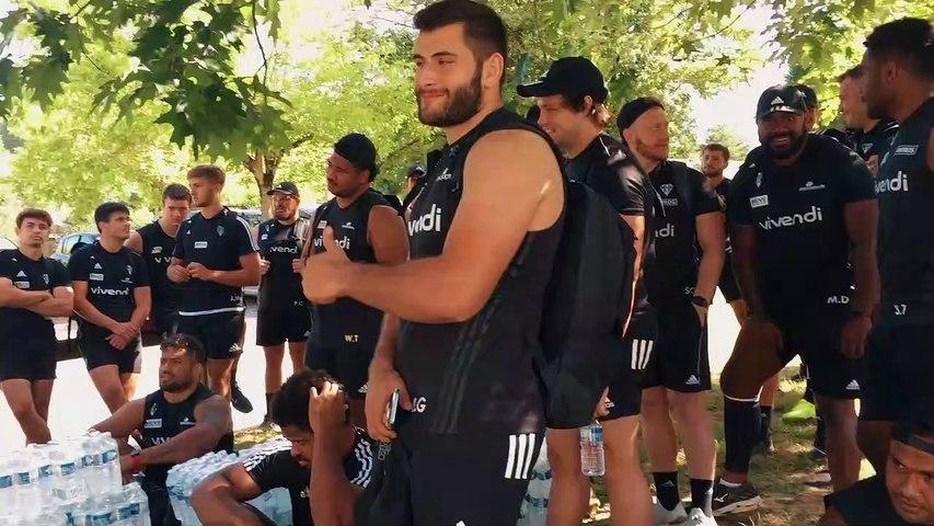 Rugby : Video - Journée sport et détente pour les joueurs du CA Brive