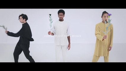 Watch the Homme Plissé Issey Miyake Spring 2021 Menswear Video