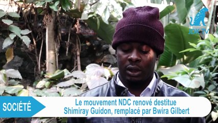 Le NDC renové destitue son Commandant en Chef SHIMIRAY GUIDON et le remplace par BWIRA GILBERT