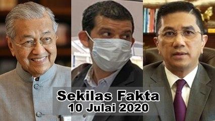 SEKILAS FAKTA: Mahathir umum blok bebas, Wartawan Al Jazeera disiasat, Azmin tak kisah dilabel