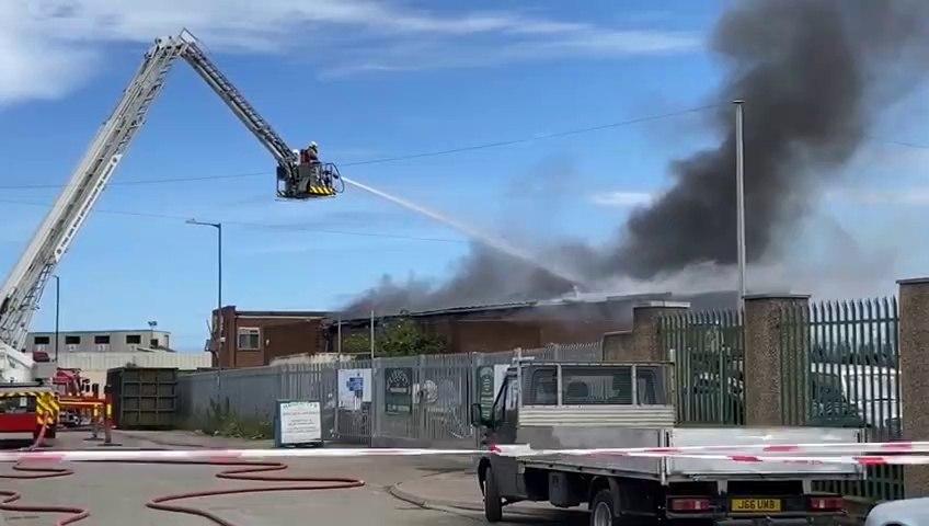 Crews attend fire in Hendon