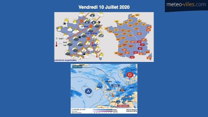 Bulletin Météo du 10 07 2020