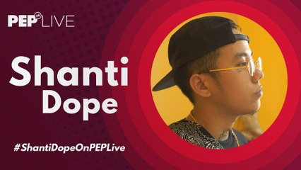 "Shanti Dope, ikinuwento ang inspirasyon sa likod ng bagong kantang ""Lutang"" | PEP Live"