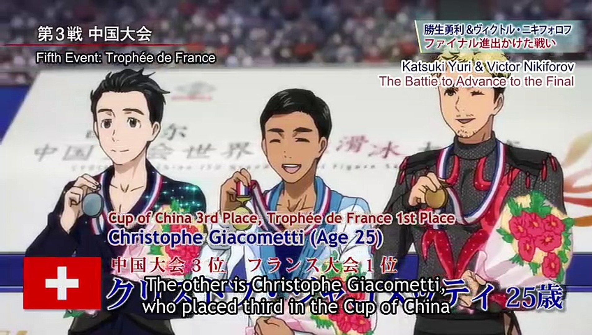 Yuri On Ice Episode 8 English Sub Video Dailymotion