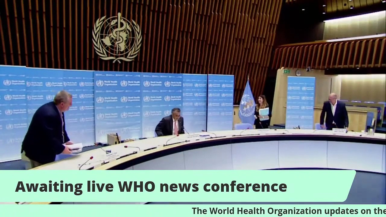 World Health Organization Holds Daily Coronavirus Briefing in Geneva