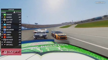 Auto Club produces three and four wide racing in eNHPL