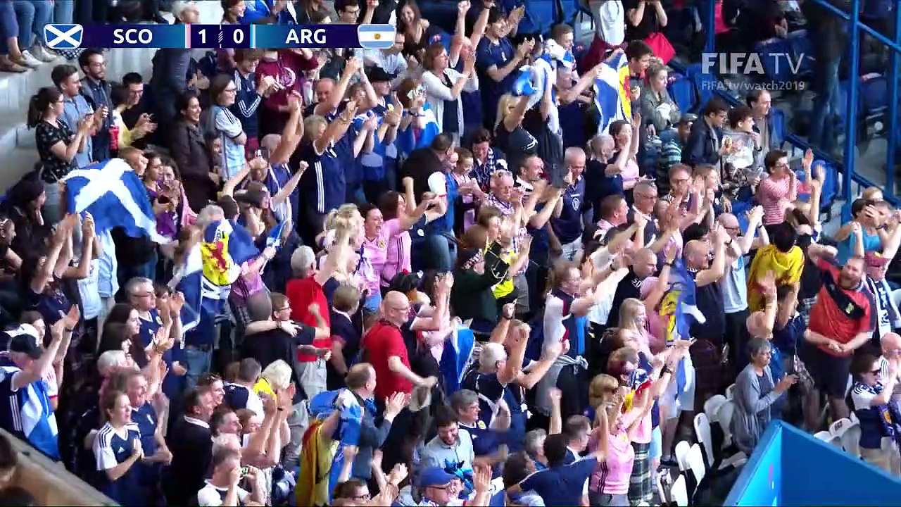 Scotland v Argentina – FIFA Women's World Cup France 2019™