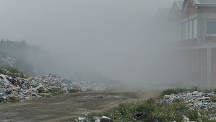 Një javë tym mbi Gjakovë nga mbeturinat-Lajme