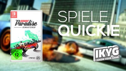 Burnout Paradise Remastered - Spiele-Quickie