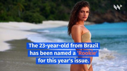 Valentina Sampaio Becomes First Transgender 'Sports Illustrated' Swimsuit Model
