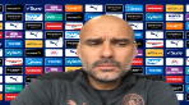 """35e j - Guardiola : """"Mendy n'était pas bien avec un muscle"""""""