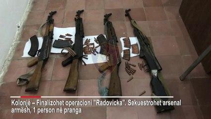 Ora News - Kolonjë, i sekuestrohet arsenal armësh, prangoset 36-vjeçari