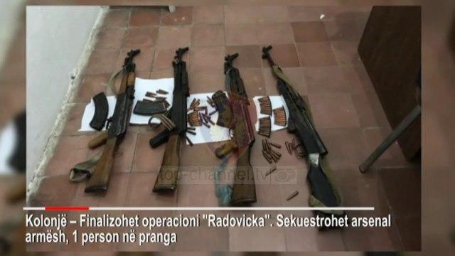 Top News - Kanabis e armë/ Operacione në jug, katër në pranga