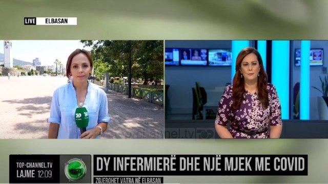 Dy infermierë dhe një mjek me Covid/ Zgjerohet vatra në Elbasan