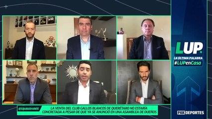 ¿Qué pasa con los Gallos Blancos de Querétaro?: LUP