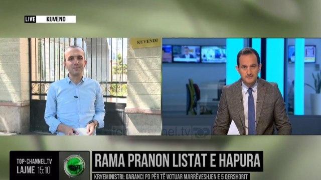 Rama pranon listat e hapura/ Kryeministri: Garanci PD për të votuar marrëveshjen e 5 qershorit