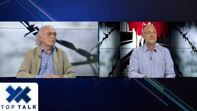 """Top Talk: E shkuara e Martin Camajt dhe Ernest Koliqit """"përplas"""" fort Auron Taren me Frrok Çupin"""