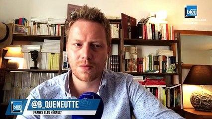 Laurent Nicollin, président du Montpellier Héraut, en direct sur France Bleu Hérault : 100% Paillade avec Bertrand Queneutte et Geoffrey Dernis