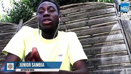 Junior Sambia en direct sur France Bleu Hérault : 100% Paillade avec Bertrand Queneutte et Geoffrey Dernis