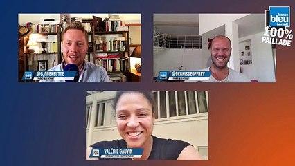 Valérie Gauvin en direct sur France Bleu Hérault : 100% Paillade avec Bertrand Queneutte et Geoffrey Dernis