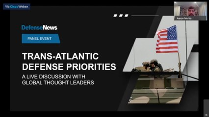 Webcast Event: Trans-Atlantic Defense Priorities