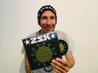 ZSK – Unikat-Vinyl-Single für Prof. Dr. Drosten