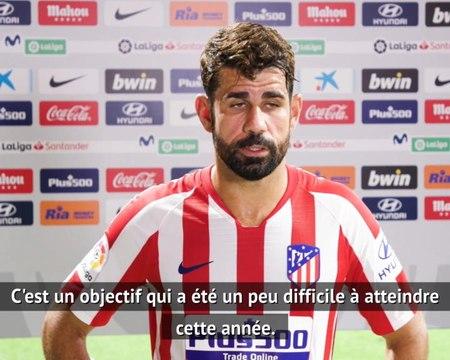 """36e j. - Diego Costa : """"L'Atlético doit être en Ligue des Champions chaque année"""""""