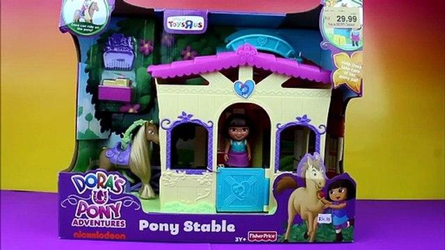 Dora's Pony Adventures Pony Stable Dora the Explorer Just4fun290