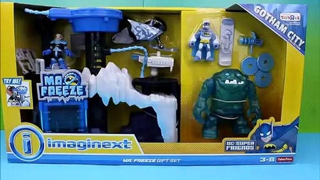 Imaginext Mr. Freeze Gift Set Batman Clayface Custom Lightning McQueen Batcar Robin Mater